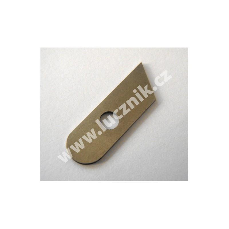 Nůž dolní pro overlock Lucznik 720 D-4, 720 D-5, 820 D-5