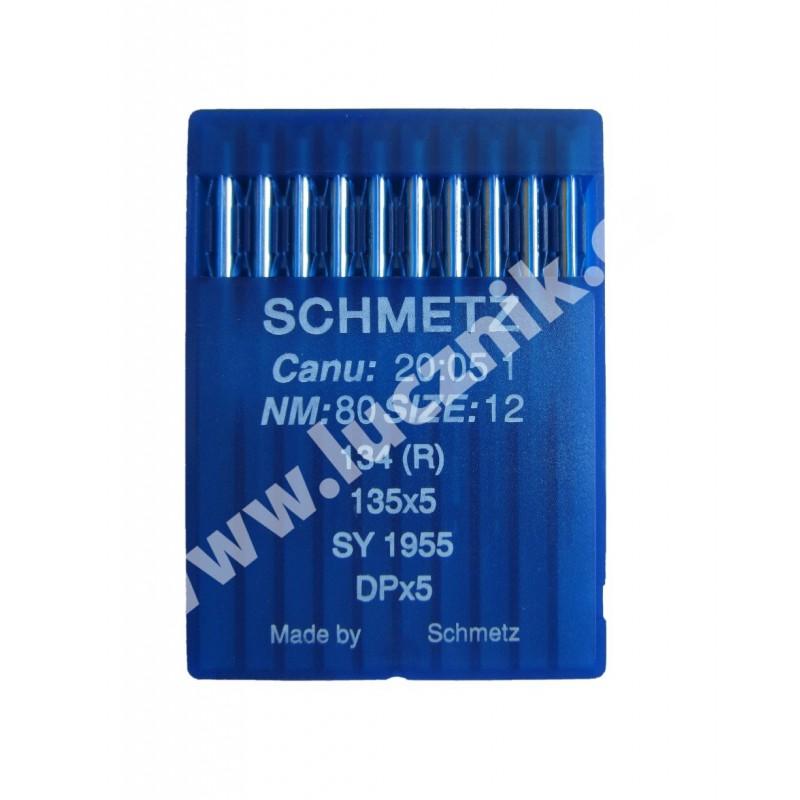 Jehly Schmetz 135x5 (10x80) - kulatý dřík