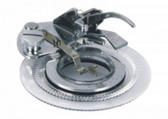 Patka pro kruhové výšivky pro šicí stroje Lucznik