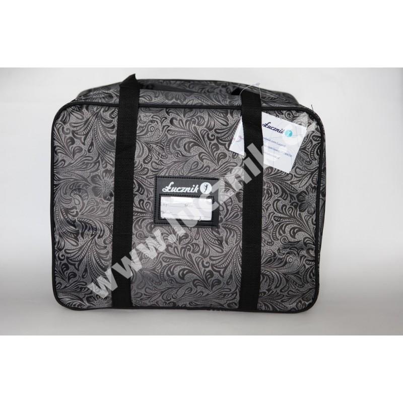 Taška na šicí stroj - šedá