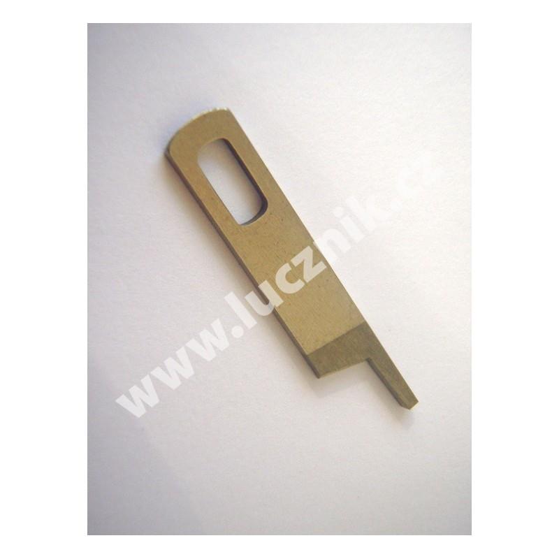 Nůž horní pro overlock Lucznik 620 D, 720 D-4, 720 D-5, 820 D-5